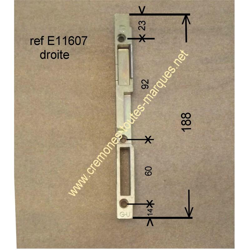 gache GU FERCO  E11607 DROITE