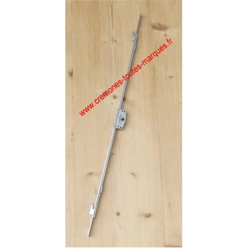 CREMONES COULISSANT AXE 17 et 22 mm A CROCHET de 5 mm ou 8 mm