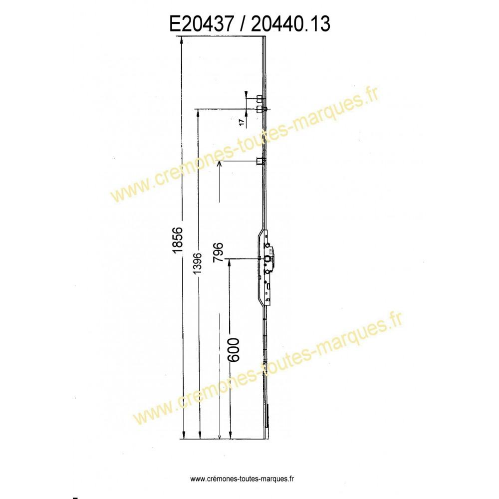 Cremones E20437 20440 Ctm Stm
